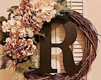 18inch hydrangea wreath