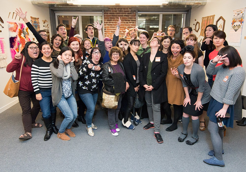 Etsy Sellers and Admin in 25 Cities Connect at Home for the Holidays Meetups