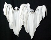 Outdoor Halloween Decoration Hanging Ghost Baby Boo Flyers Yard Art