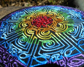 Izwel Freehand Drawn Mandala Patch #1