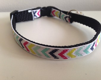Colorful Arrows Cat Collar