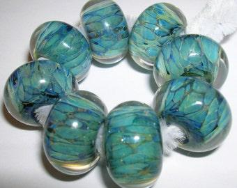 Beau Hawn Lampwork Boro GLASSADDICT Beads borosilicate beads STONES