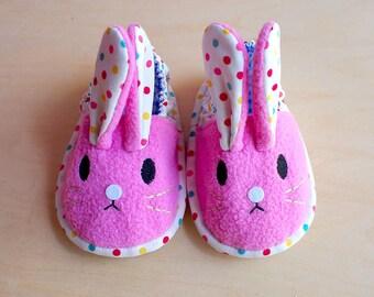 Elastic Baby Booties - Chubby Bunny 15