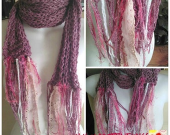 Oh! You Pretty Things Light and Lovely Cotton Blend Scarf