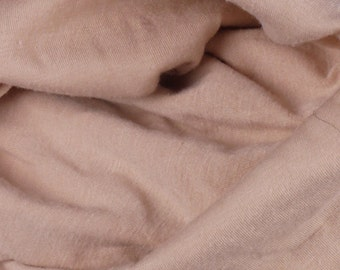 "Beige Jersey Fabric - 54"" Wide - 2 Yard (PV-981)"