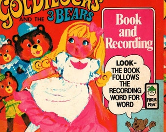 Goldilocks and the 3 Bears - Arvid Knudson - 1981 - Vintage Book