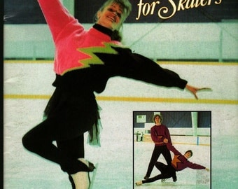 Patons Handknits for Skaters - 1990 - Vintage Book