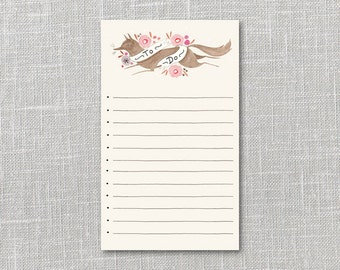 Fox To Do List Printable Instant Download PDF