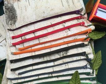 Birch Bark Pencil Cases