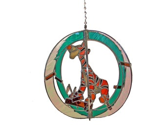 Tigger Stained Glass Suncatcher