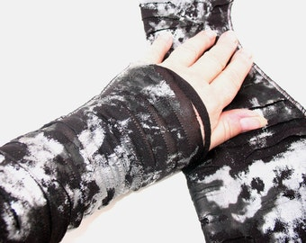 Heavy Metal Zombie Arm Warmers Womens Sleeves  Gauntlet zombie costume -  halloween costume adult accessory death metal arm warmers