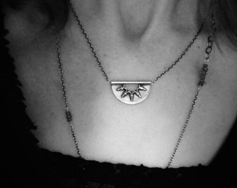 nimbus ... silver pendant