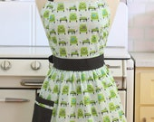 Retro Apron Green Chairs - CHLOE