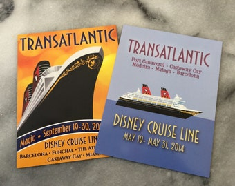 Disney Cruise Magnet Personalization Add On - Add a date or name to a design.