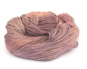 4ply fingering silk baby camel yarn, variegated luxury skein handdyed pink purple knitting crochet Perran Yarns, natural fibre uk seller