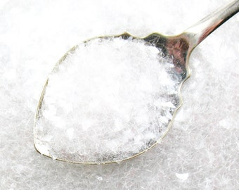 German Glass Glitter CLEAR - Shards 60 Grit - Diamond Dust Snow - Vintage Style - 1 oz.