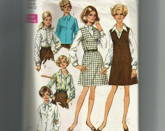 Simplicity Women'a Jumper and Blouses Pattern 8408
