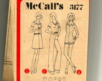 McCall's Misses' Dress, Shorts , Top and Pants Pattern 3177