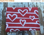 40% FLASH SALE- Reclaimed Heart Fabric-Red