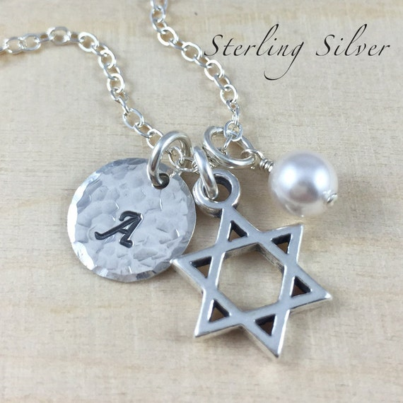 items similar to personalized bat mitzvah charm necklace