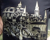 New Orleans Cityscape - Womens T-Shirt