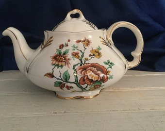 Vintage English Ironstone Tea Pot
