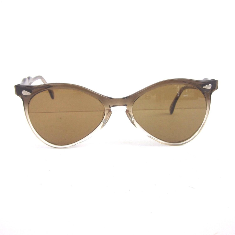 Bending Plastic Frame Glasses : Vintage 60s 70s Sun Glasses Graceline Womens Plastic Frame
