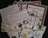 Ancient Heroes Book of Mormon Family Home Evening Bingo Game