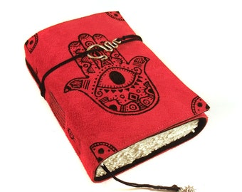 Hamsa Journal, Leather, Handmade, Diary, Notebook