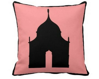 BRIGHTON FOLLY PILLOW 4 sizes and 2 colors (indoor and outdoor fabrics)