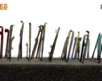 Valentine Sale Needle Felting Needles, color coded, #36, #38, #40, felting needles, barbed needles, wool felting tool, needle felting tool r