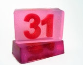 Custom Number Soap, Personalized Number Soap, Gift for Athlete