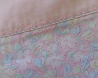 Princess pink. vintage cheery print pillowcase
