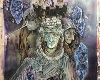 Citadel // Witch / Magical / Fantasy Art Print