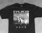 The Book of the Dead : EvilDead / Dropdead - Crust Punk Tee Shirt