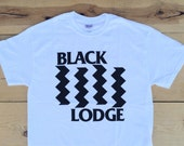 Black Lodge : TP / Black Flag Tee Shirt