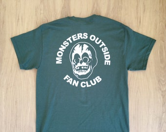 Monsters Outside Fan Club Tee Shirt