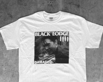 Black Lodge Damaged : TP / Black Flag Tee Shirt