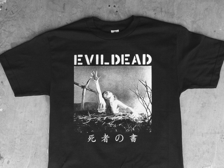 Black flag t shirt europe - The Book Of The Dead Evildead Dropdead Crust Punk Tee Shirt
