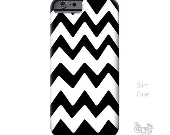 Chevron iPhone 6s Case, iPhone 6s plus case, Chevron iPhone 6 case, iPhone cases, iPhone 5S case, iPhone 6 plus case, black and white