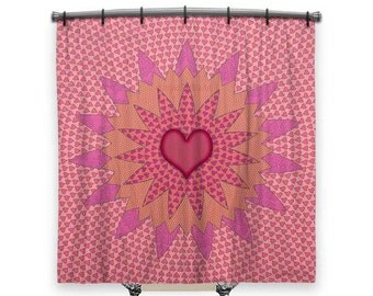 girls shower curtain etsy