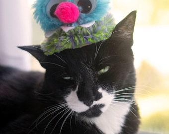 Halloween Monster Cat Hat