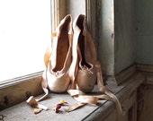 Girl's Vintage Selva Pointe Shoes