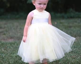 Flower Girl .  Tutu Dress