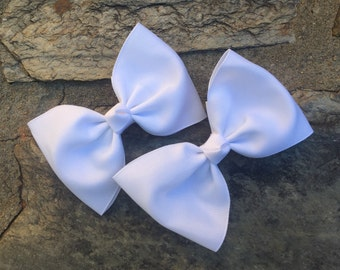 Pair of Ex-Large Tuxedo Hair Bows