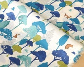 Japanese Fabric Wonder Forest 1 - cotton lawn - B - 50cm