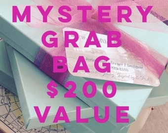 Mystery Box Jewelry Grab Bag - Retail value over 200, mystery destash, holiday gifts, surprise goody bag