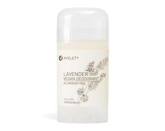 Lavender Alluminum Free Deodorant Stick| Vegan Deodorant Stick| Deodorant| Underarm Deodorant| Nontoxic Deodorant  2.5 oz