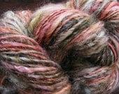 ARIZONA BUTTE Handspun Wool Yarn Fleecespun Coopworth 127yds 3.75oz 8wpi aspenmoonarts knitting art yarn