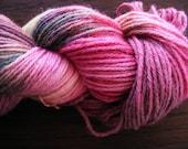 Handpainted Yarn Wool PIXIE MAGIC 220yds 3.5oz Worsted Weight  Aspenmoonarts Hand Painted